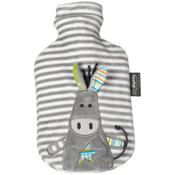 Bouillotte eau Âne gris 0,8L